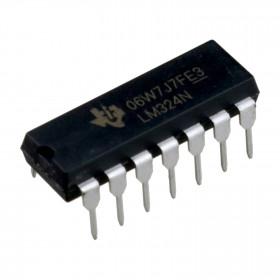 LM324N Amplificador Operacional Quádruplo de Baixo Consumo