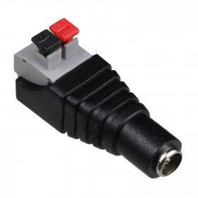 Adaptador J4 P4 Fêmea 2,1mm x Engate Rápido
