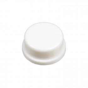 Botão Redondo Branco para Chave Tactil 12x12x7,3mm