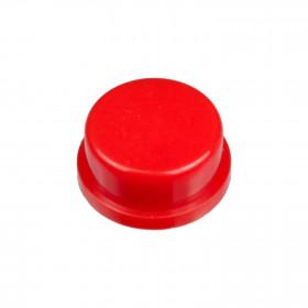 Botão Redondo Vermelho para Chave Tactil 12x12x7,3mm