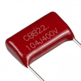 Capacitor Poliéster Metalizado 100nF 400V