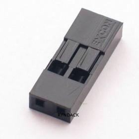 Alojamento 2 Vias Modu 2,54mm