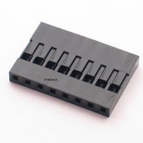 Alojamento 8 Vias Modu 2,54mm