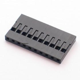 Alojamento 10 Vias Modu 2,54mm