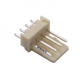 Conector 4 Vias KK 2,5mm Macho 180°