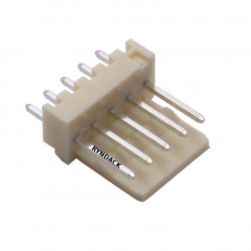 Conector 5 Vias KK 2,5mm Macho 180°