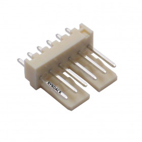 Conector 6 Vias KK 2,5mm Macho 180°