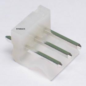 Conector 3 Vias KK 3,96mm Macho 180° KKzão