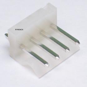 Conector 4 Vias KK 3,96mm Macho 180° KKzão