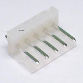 Conector 5 Vias KK 3,96mm Macho 180° KKzão