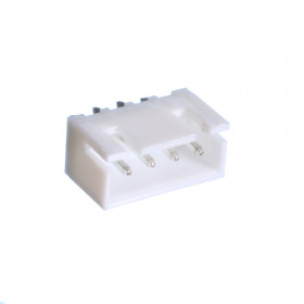 Conector Macho XH 4 Vias 2,5mm 180°