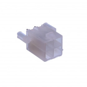 Conector Header Fêmea Mini Fit 4 Vias 4,20mm com Peg 180°