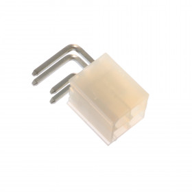 Conector Header Fêmea Mini Fit 4 Vias 4,20mm sem Peg 90°