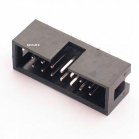 Conector Header 14 vias 180º