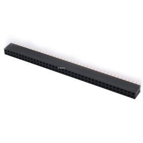 Barra de Pinos Fêmea 2x40 Passo 2,54mm (MCI)