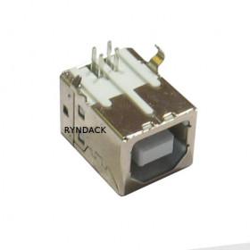 Conector USB Tipo B Fêmea 90° para Placa