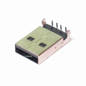 Conector USB Tipo A  Macho 90° para Placa YH-USB05A