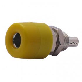 Borne para Pino Banana 4mm B07 Amarelo 20A