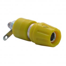Borne para Pino Banana 4mm B19 Amarelo 20A