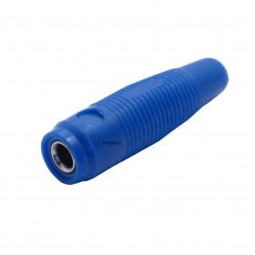 Borne para Fio Jack Pino Banana 4mm Extensão Azul J121
