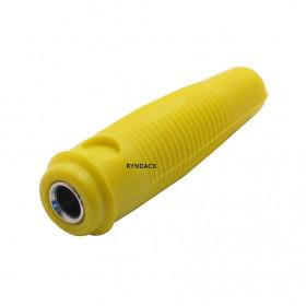Borne para Fio Jack Pino Banana 4mm Extensão Amarelo J121
