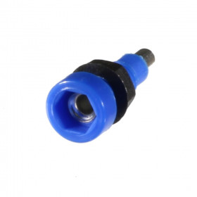 Borne para Pino Banana 2mm B67 Azul 10A