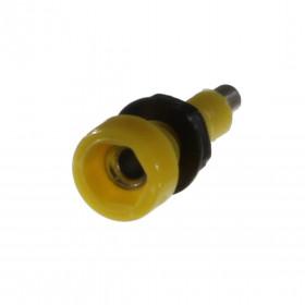 Borne para Pino Banana 2mm B67 Amarelo 10A