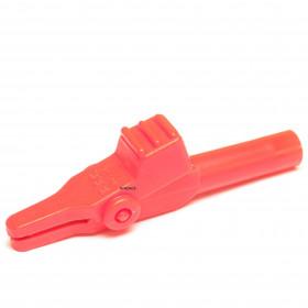 Garra de Jacaré GJ44 Vermelha para Pino Banana 60mm 10A