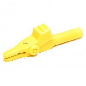 Garra de Jacaré GJ44 Amarela para Pino Banana 60mm 10A