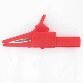 Garra de Jacaré GJ50 Vermelha para Pino Banana 83,5mm 32A