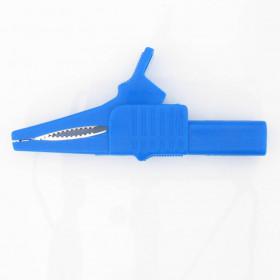 Garra de Jacaré GJ50 Azul para Pino Banana 83,5mm 32A