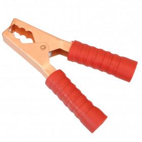 Garra Jacaré Grande 300A 13,5cm Vermelha para Bateria