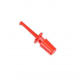 Pinça Retrátil para Teste tipo Ponta de Prova 43mm Vermelha