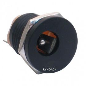 Jack J4 2.1mm com Rosca (DC-022) (Plástico)